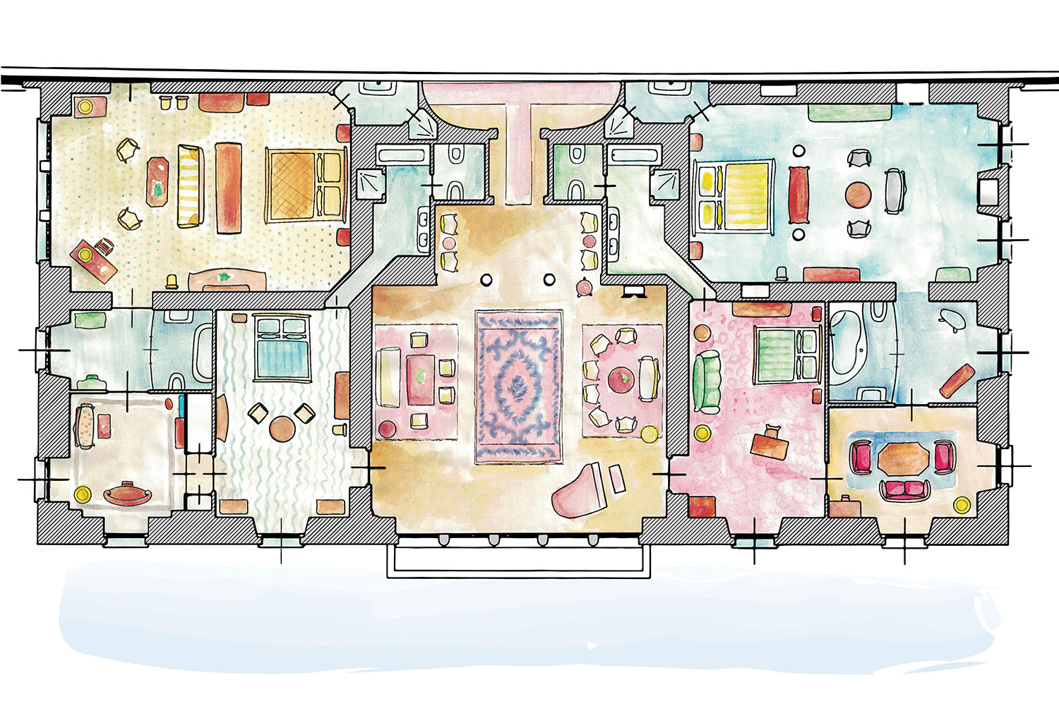 The Imperial Suite plan